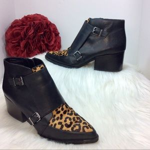 Circus By Sam Edelman Reese Booties Calf Hair US 9